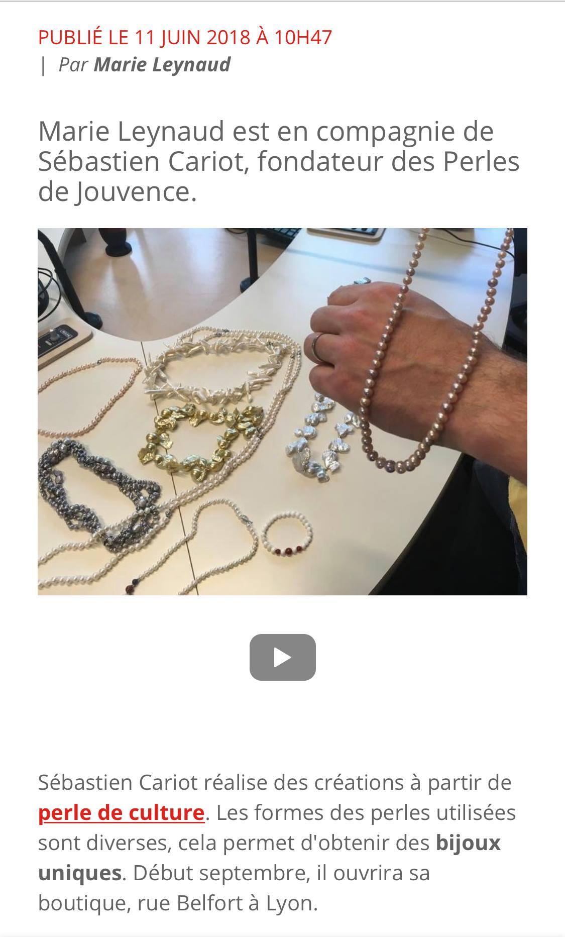 Bijoutier Lyon Les Perles De Jouvence Createur Bijoux Lyon